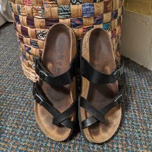 Mayari Birkenstocks size 36 black